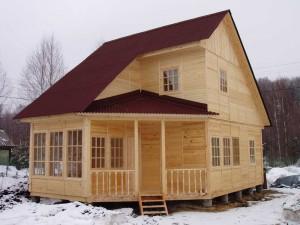 Россияне все больше для покупки загородного дома, предпочитают каркасно-щитовые дома