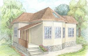 Построив дом, не забудьте привести в порядок окружающий ландшафт!
