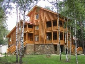 Загородные дома из дерева