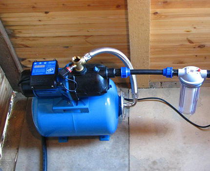 Регулировка водоснабжения