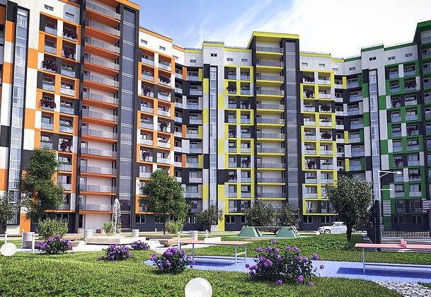 Современный жилой квартал Авила